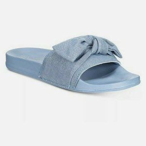 INC INTERNATIONAL CONCEPTS KNOTTED POOL SLIPPERS